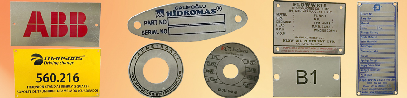 Brass Etched Labels