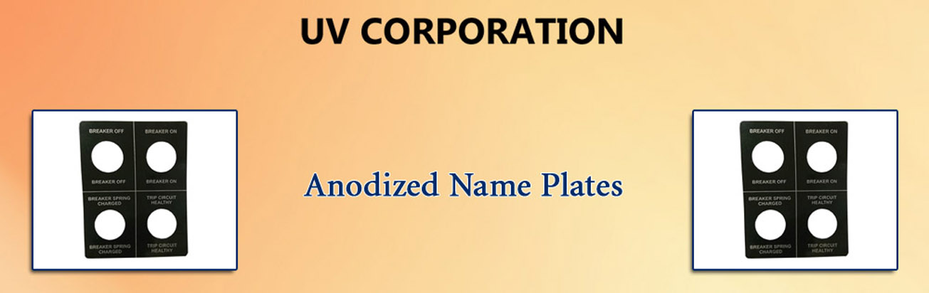 Anodized Name Plates