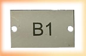Bar Code Plates