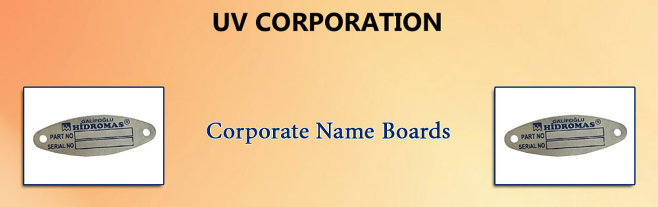 Corporate Name Boards