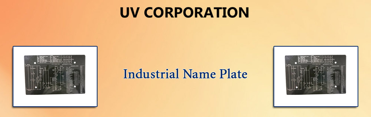 Industrial Name Plate