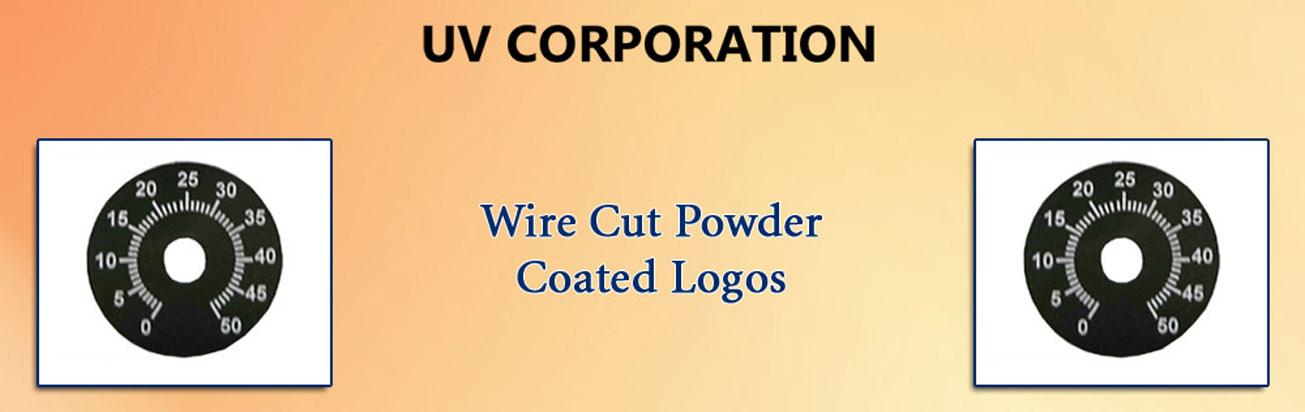 Wire Cut Powder Coated Logos